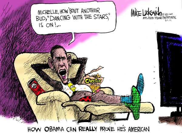 Political/Editorial Cartoon by Mike Luckovich, Atlanta Journal-Constitution on In Other News