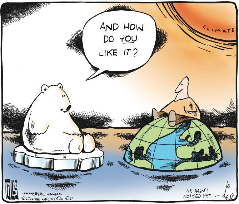 editorial essay on global warming What is happening in the arctic will reverberate around the globe arctic warming may already be influencing weather patterns in the middle latitudes.