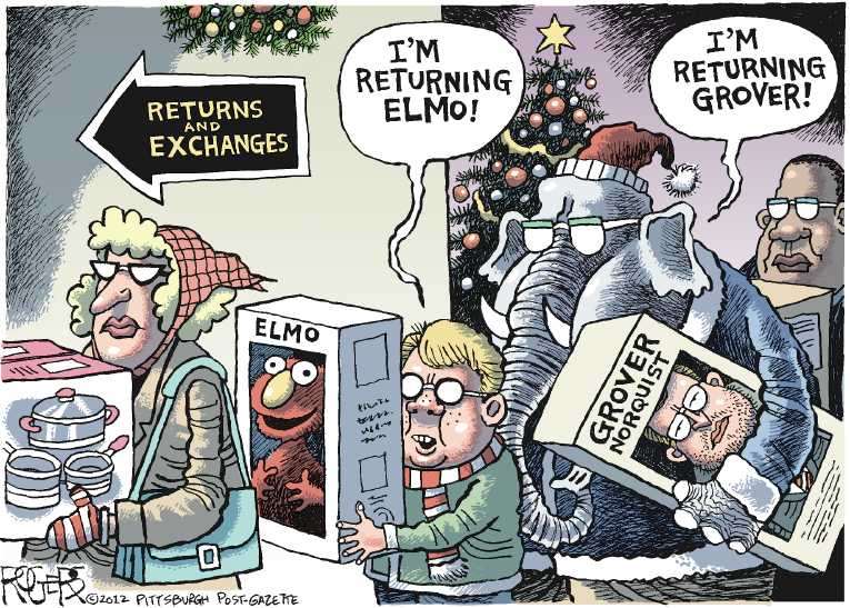 Oil Change At Walmart >> Political Cartoon on 'Walmart Under Fire' by Rob Rogers ...
