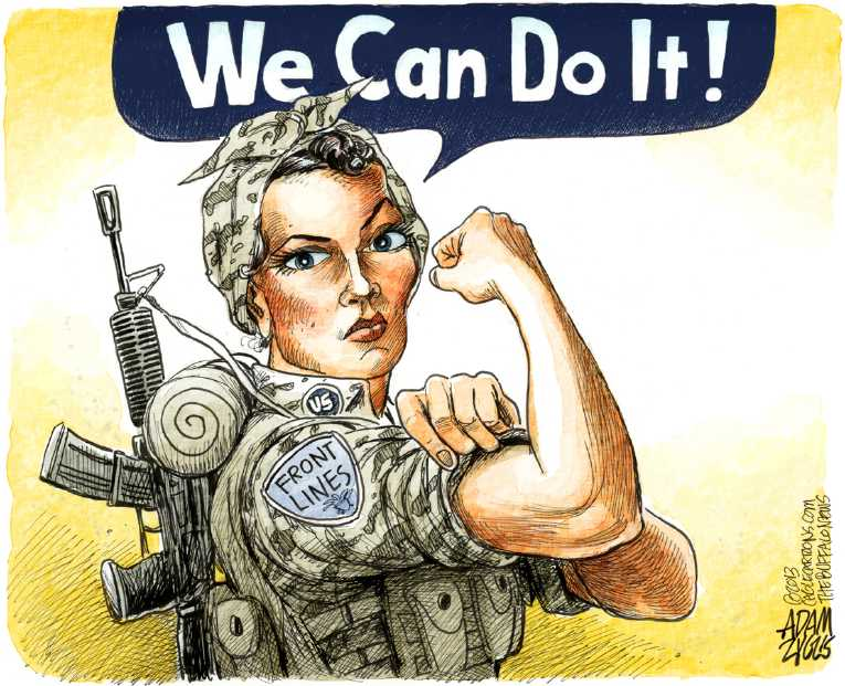 women should go to combat Putting women in combat is a disastrous decision more the decision to open ground-combat positions to women is seriously misguided, as evidenced by the fact that the policy decision precedes the.