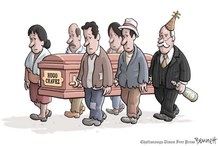 Political/Editorial Cartoon by Clay Bennett, Chattanooga Times Free Press on In Other News