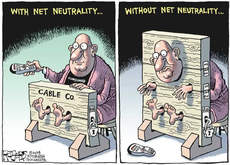 Image result for net neutrality rollback cartoon