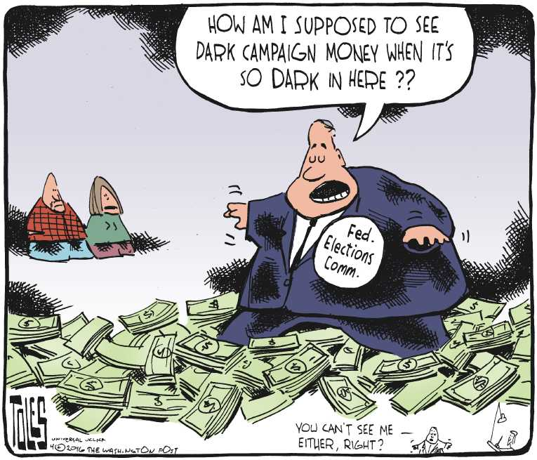 Political Cartoon On Voters Disenfranchised By Tom Toles