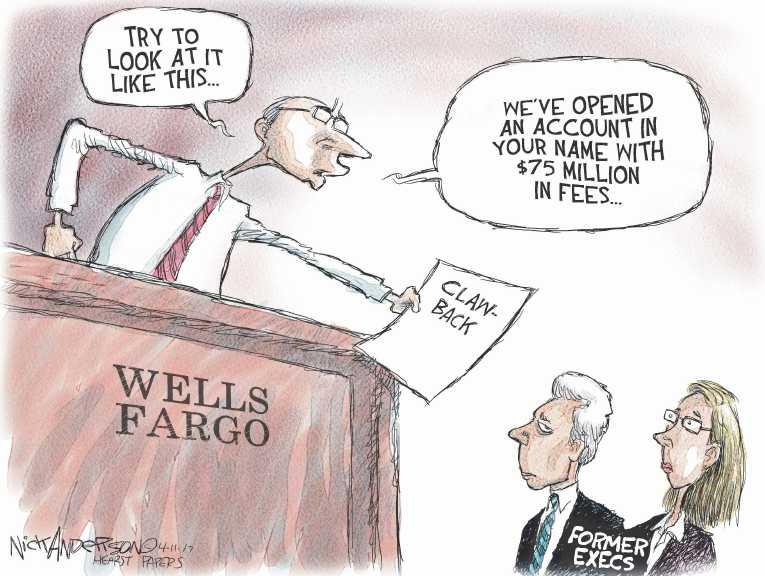 Political/Editorial Cartoon by Nick Anderson, Houston Chronicle on In Other News