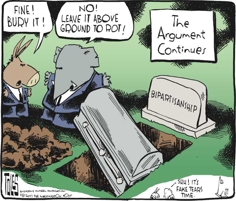 Political/Editorial Cartoon by Tom Toles, Washington Post on In Other News
