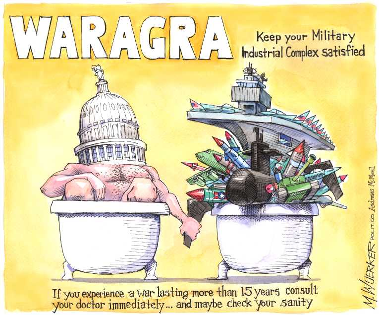 Political/Editorial Cartoon by Matt Wuerker, Politico on In Other News