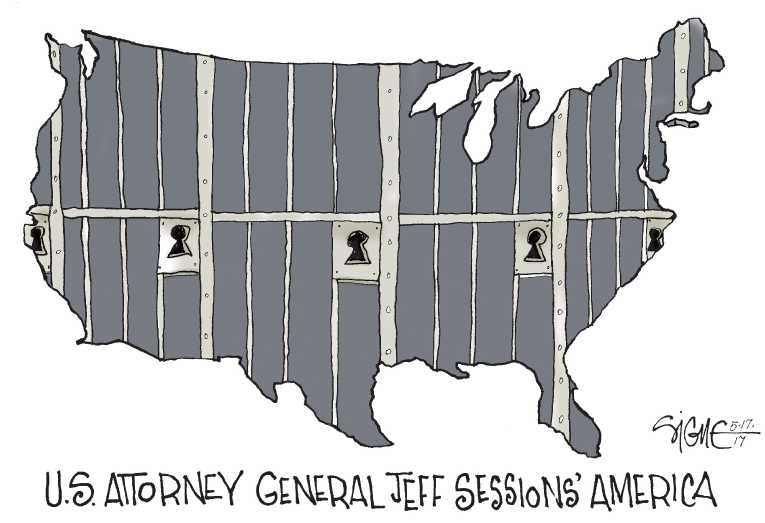 Political/Editorial Cartoon by Signe Wilkinson, Philadelphia Daily News on In Other News