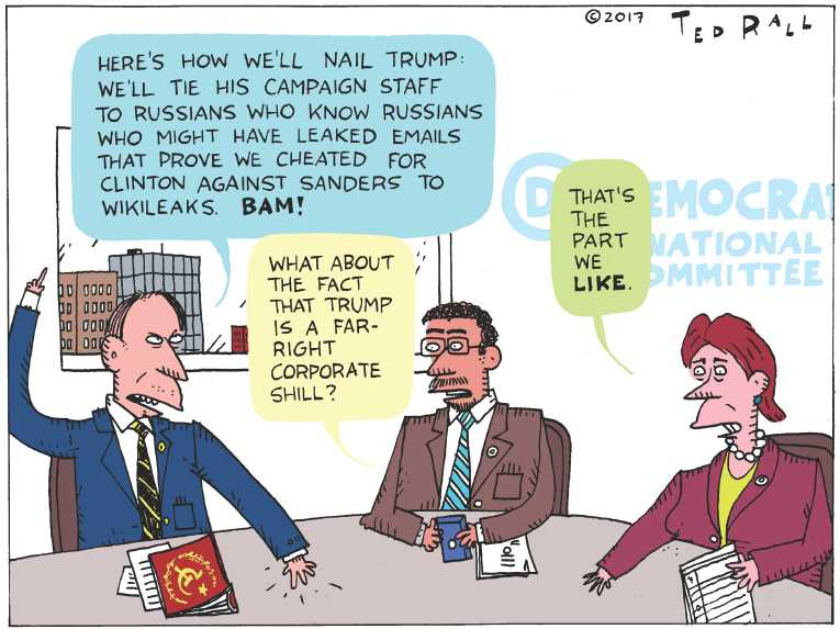 Political/Editorial Cartoon by Ted Rall on In Other News