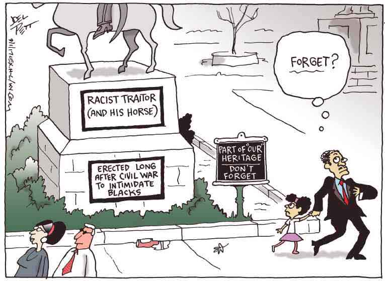 Political/Editorial Cartoon by Joel Pett, Lexington Herald-Leader, CWS/CartoonArts Intl. on In Other News