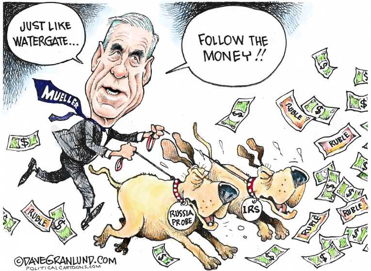 Political/Editorial Cartoon by Dave Granlund on In Other News
