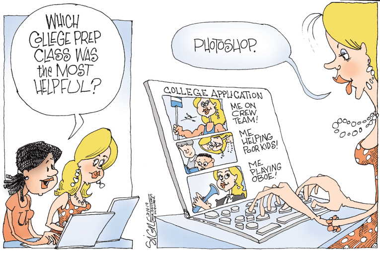 Political Cartoon on 'Helicopter Parents Busted' by Signe ...