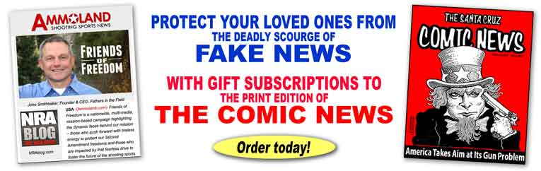 Subscribe to The Comic News print edition